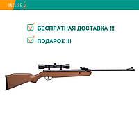 Пневматическая винтовка Crosman Vantage NP (30021) c ОП 4×32 дерево газовая пружина перелом ствола 305 м/с