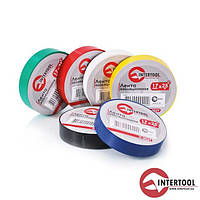 Ізолента (кольорова) InterTool розмір-17мм х 20м