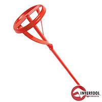 Міксер для фарби InterTool d-80мм L-400мм