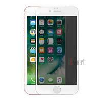 Защитные стекла Full Cover PRIVACY глянец iPhone 7/8 - Белый