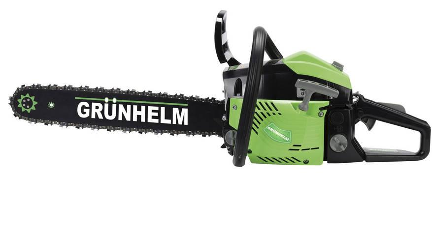 Grunhelm GS52-18 Professional Бензопила цепная, фото 2