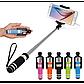 Микрофон Караоке WS 858 Беспроводной Bluetooth (Золото, розовый, черный), фото 8