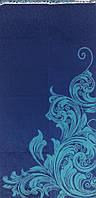 Полотенце махровое  50*90 ВЕНЗЕЛЬ синий.100% хлопка (шт.)