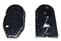 Корпус редуктора для мясорубки Saturn/Delfa (пластиковый низ)