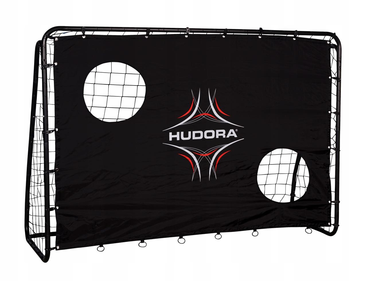 Футбольные ворота с экраном фирмы HUDORA с экраном (игровые футбольные ворота, тренировочные ворота)