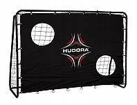 Футбольные ворота с экраном фирмы HUDORA с экраном (игровые футбольные ворота, тренировочные ворота), фото 1