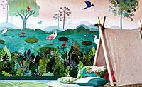 Панно в детскую флизелиновое Dusky Amazon Picturebook Villa Nova, фото 1
