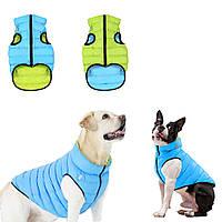 Куртка жилетка для собак Эйри вест (Airy vest Collar) двусторонняя M 40 Бульдог