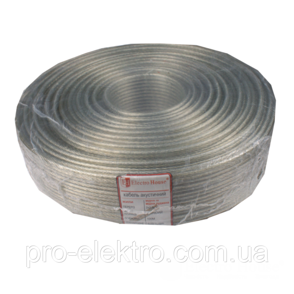 EH-ACK-006 Провод акустический луженый бескислородная медь 100% медь 2х2,5мм²