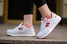 Женские кроссовки New Balance 530 encap красно-белые топ реплика