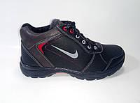 Мужские зимние кроссовки на шнурках