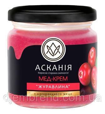 Крем-мёд Клюква, 250 г