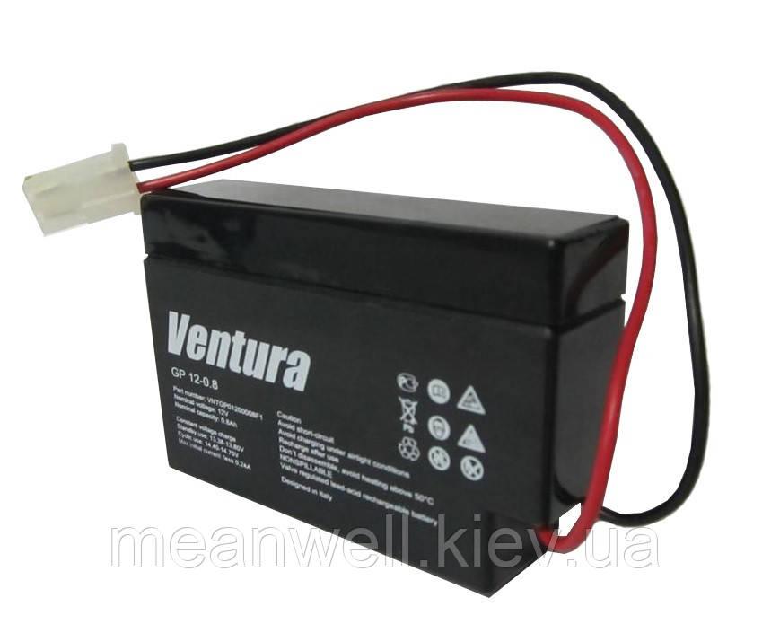 Аккумуляторная батарея Ventura GP 12-0,8 12в, 0,8Ач (AGM)