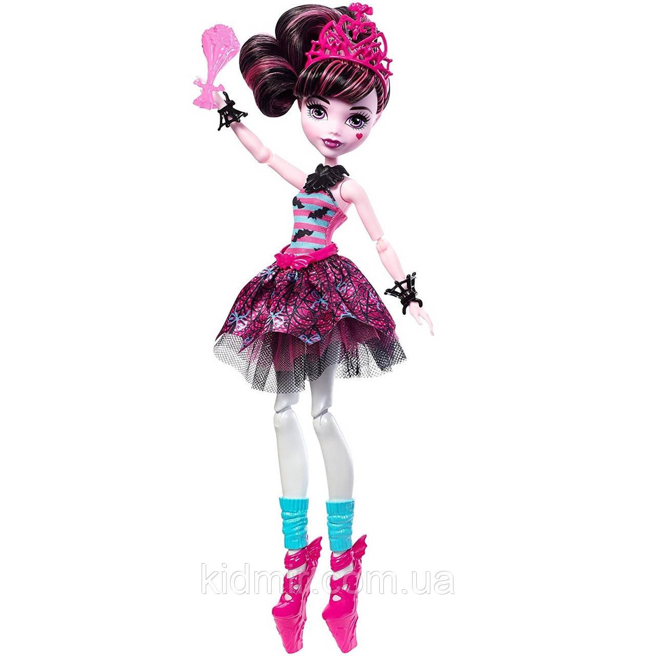 Кукла Monster High Дракулаура (Draculaura) из серии Ballerina Ghouls Монстр Хай