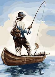 Картина по номерам Утренняя рыбалка (KH2240) 40 х 50 см Идейка