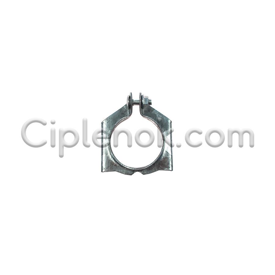 Хомут (зажим) против скольжения кормушки для трубы кормления (45мм)