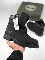 Чоловічі черевики Timberland Fur Black (Без хутра), фото 3
