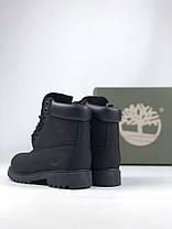 Чоловічі черевики Timberland Fur Black (Без хутра), фото 2