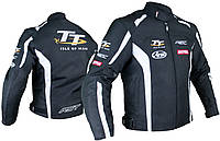 Мото куртка RST IOM TT Team черный белый, 54