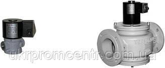 Клапан газовий електромагнітний серії ВН відсічною муфтовий нормально-закритий в сталевому корпусі
