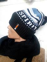 Комплект (шапка + снуд)