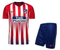 Детская футбольная форма Атлетико Мадрид, сезон 2018-2019 (домашняя)