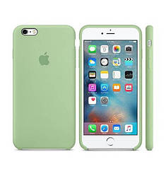 "Чехол на телефон Apple Silicone Case 5|5s|SE ""Mint""(реплика)"