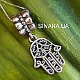 Серебряный подвес шарм Pandora Хамса - Шарм Хамса серебро 925, фото 4
