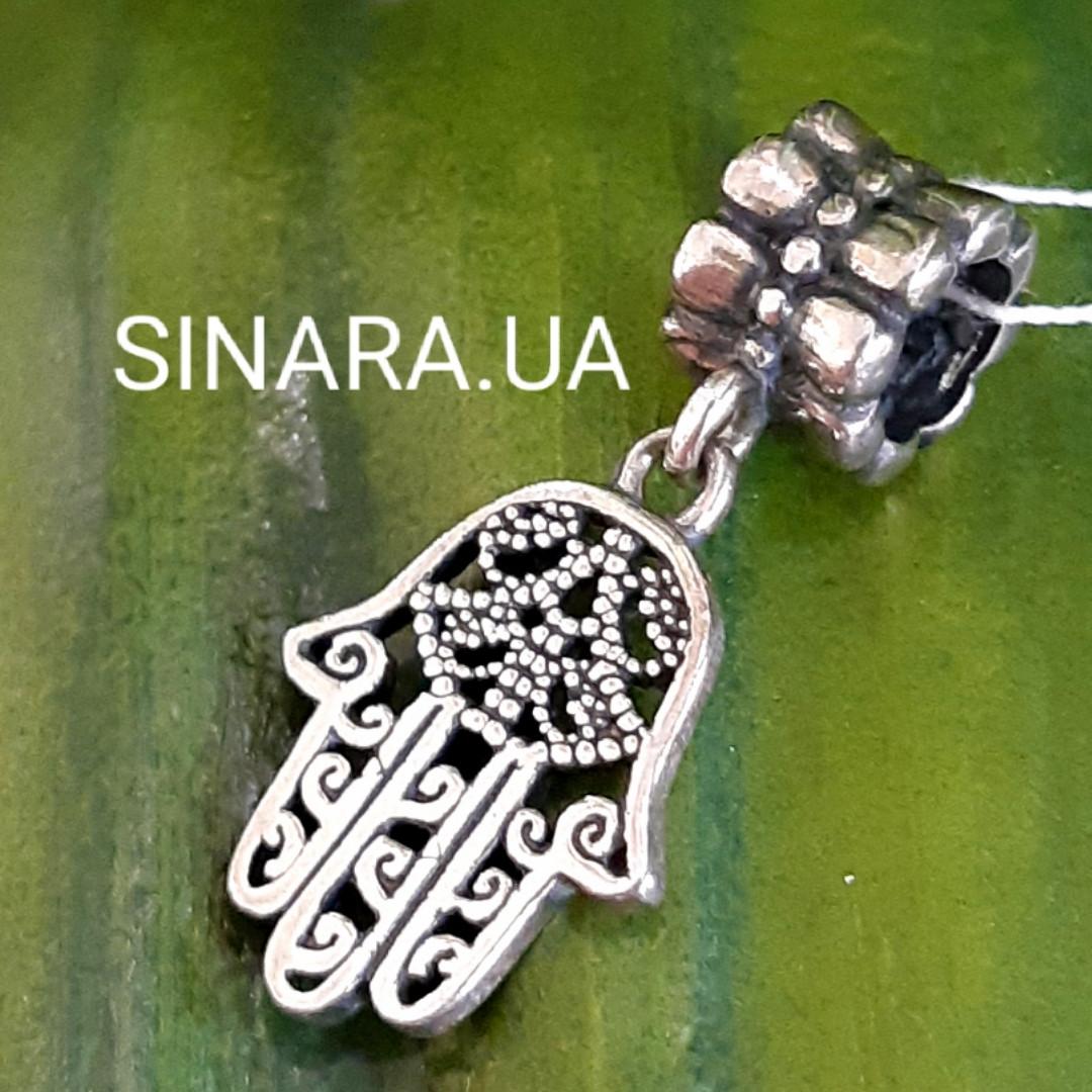 Серебряный подвес шарм Pandora Хамса - Шарм Хамса серебро 925
