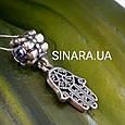 Серебряный подвес шарм Pandora Хамса - Шарм Хамса серебро 925, фото 2