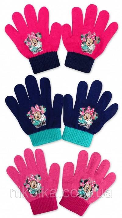 Детские перчатки для девочек оптом, DISNEY, 10x13 см, Арт. MIN-A-GLOVES-82