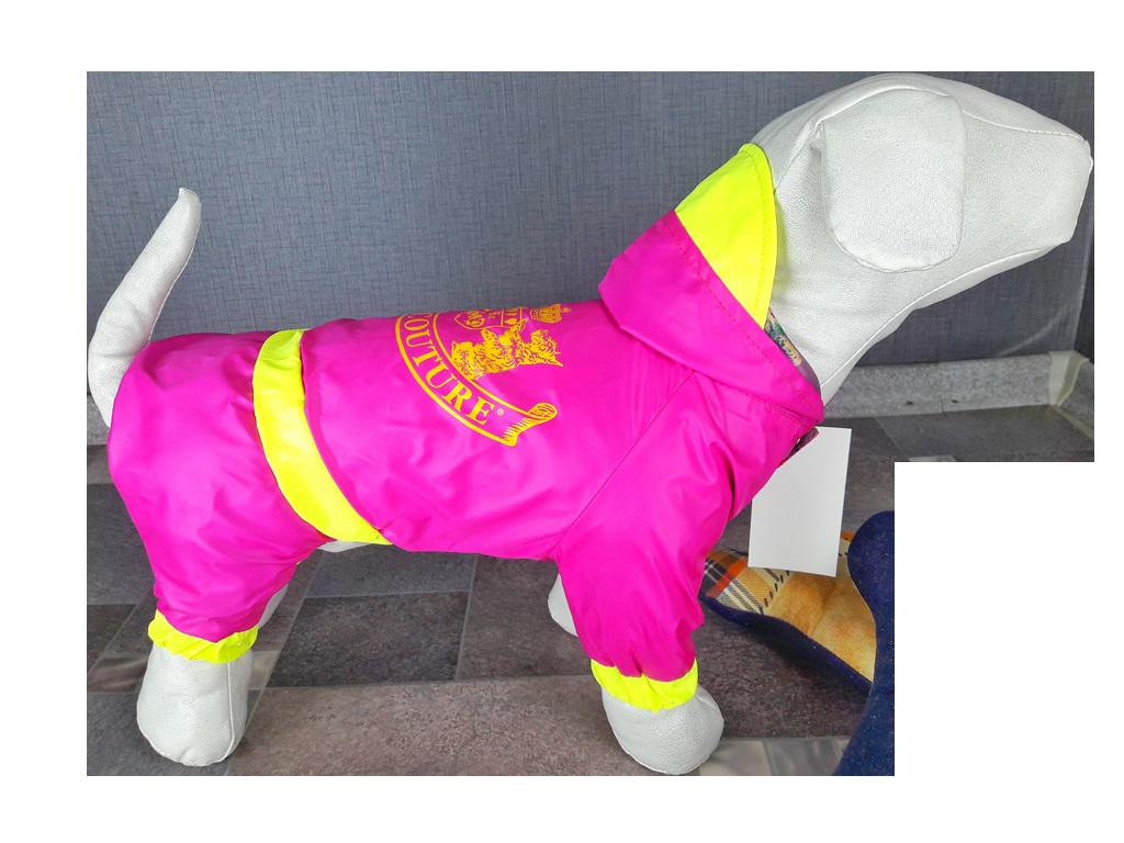 Дождевик для собак Juicy Couture, розовый