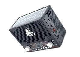 """NS-1556S """"NNS"""" Аккумуляторный Радиоприемник с солнечной панелью/ SD/USB/"""