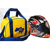 Сумка для гоночного шлема, для гонок на карте, ралли RVL Черный, фото 1