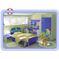 Детская комната Ocean мебель для мальчика синяя, фото 1
