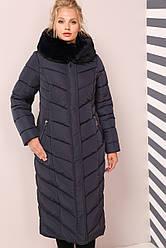 Длинное зимнее пальто большого размера  Амаретта Нью Вери (Nui Very)