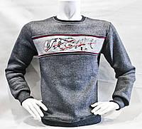 """Свитшот мужской модный URBAN на флисе, размеры M-2XL Серии """"ZAZZONI"""" купить оптом в Одессе на 7км"""