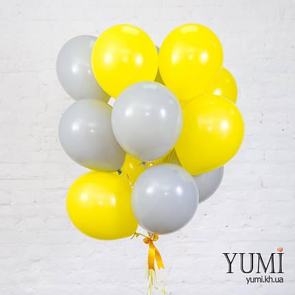 Связка для подруги из 15 шаров с гелием, фото 2