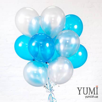 Связка из 15 воздушных шариков, фото 2