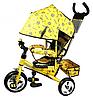 Детский трехколесный велосипед Profi Trike (с капюшоном)