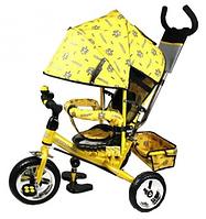 Детский трехколесный велосипед Profi Trike (с капюшоном), фото 1