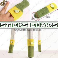 "Носочки для стула и стола - ""Sticks Chairs"" - 4 шт., фото 1"