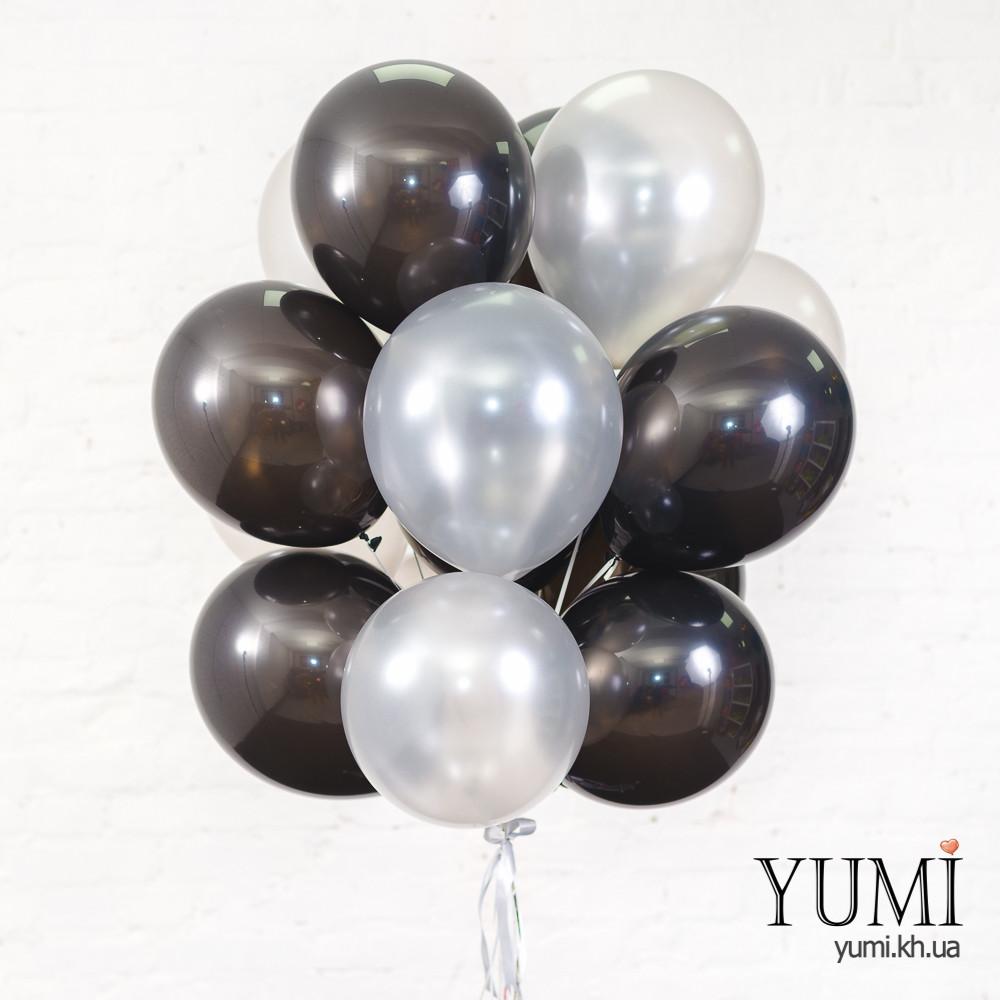 15 гелиевых шаров для мужчины