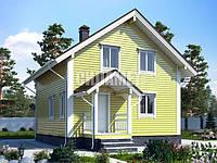 Строительство дома по проекту С-82