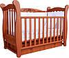 Детская кроватка Верес- Соня ЛД 15 с ящиком и маятником