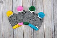 Новые шапки с бубоном - демонстрируем расцветки