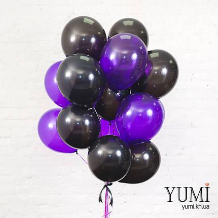 Букет из 15 шаров с гелием, фото 2