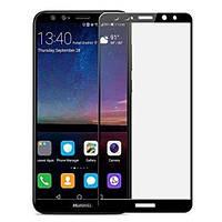 3D Full Glue защитное стекло для Huawei Mate 10 Lite Черное (клеится вся поверхность)
