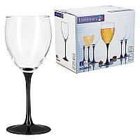"""Набор бокалов для белого вина 190 мл Domino """"J0042"""" Luminarc 6 шт."""