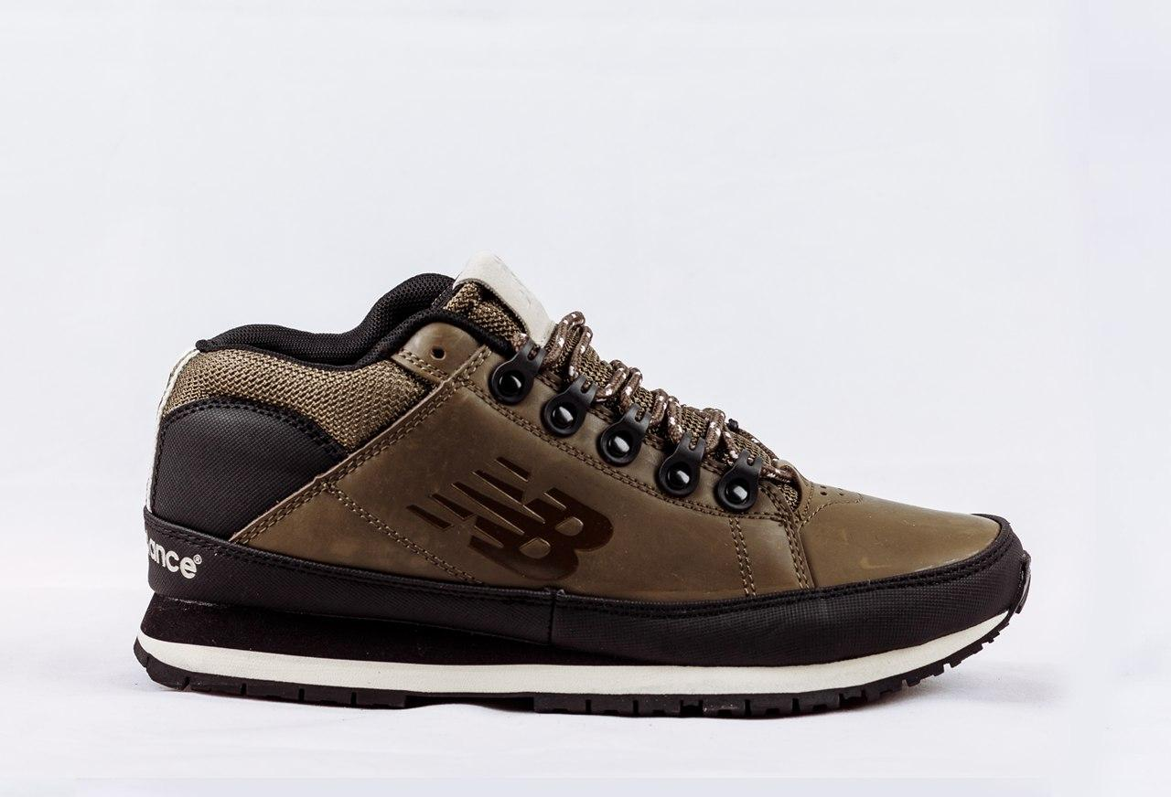 Мужские кроссовки New Balance 754 оливковые топ реплика